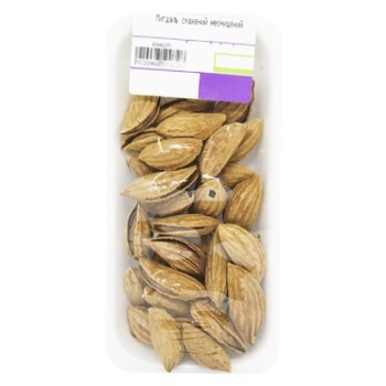 Roasted Unpeeled Almonds - buy, prices for MegaMarket - image 1