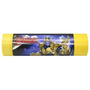 Vortex Marvel Garbage Bags Yellow 60l 15pcs
