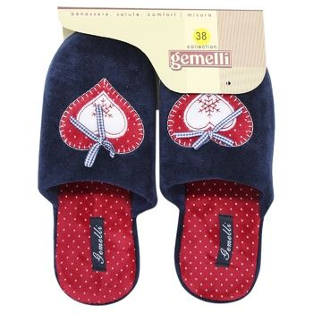 Обувь домашняя Gemelli женская Бьюти в ассортименте - купить, цены на МегаМаркет - фото 2