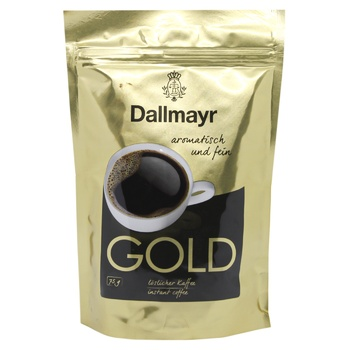 Dallmayr Gold Instant Coffee 75g - buy, prices for MegaMarket - image 1