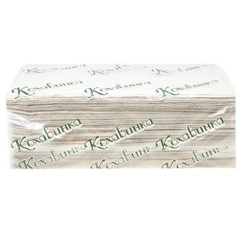 Kohavynka Z-Z Paper Towels 200pcs - buy, prices for MegaMarket - image 1