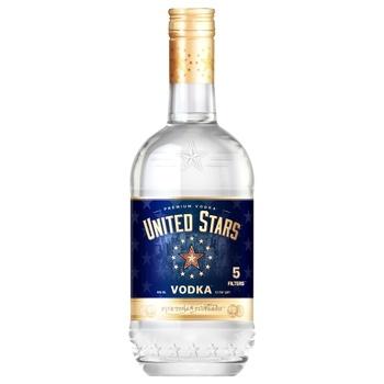 United Stars Ice vodka 40% 0,5l - buy, prices for CityMarket - photo 2