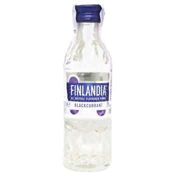 Водка Finlandia черная смородина 37,5% 0,05л - купить, цены на СитиМаркет - фото 1