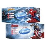 Smile Marvel Wet Napkins 72pcs assortment