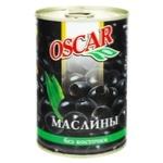 Oscar Boneless Black Olives