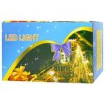 Electric Garland Christmas Tree Ball LED 10 lamps on Batteries 1.5m