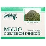 Мыло Golden Pharm с зеленой глиной 70г