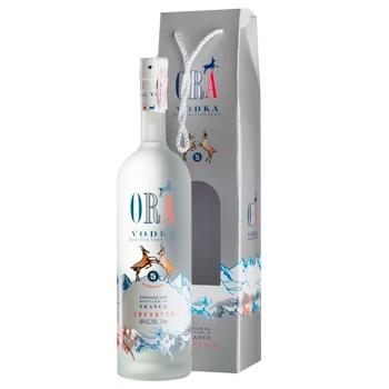 Горілка Ora Vodka Box 40% 0,7л