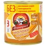 Молоко Фаворит сгущенное вареное с сахаром 8.5% 360г