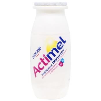 Продукт кисломолочний Danone Актимель солодкий без наповнювача 1,6% 100г