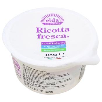 Сыр Elda Ricotteria Рикотта 50% 100г