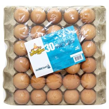 Яйца куриные Від доброї курки Киевские С1 30шт - купить, цены на СитиМаркет - фото 1