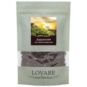 Чай черный Lovare Darjeeling индийский 50г - купить, цены на МегаМаркет - фото 1