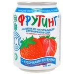 Non-alcoholic non-carbonated juice-containing drink of strawberry juice Fruiting can 238ml