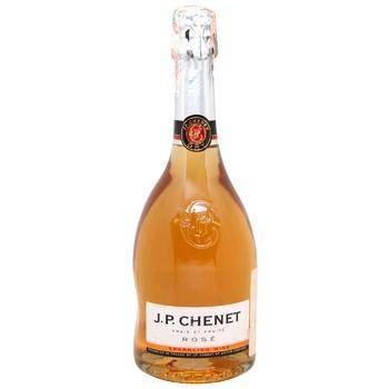 Шампанське J.P. Chenet Rose Dry рожеве сухе 11% 0,75л