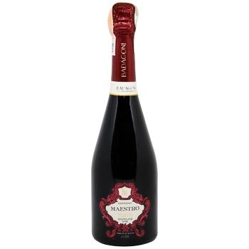Вино игристое Badagoni Saperavi Maestro красное полусладкое 11% 0,75л