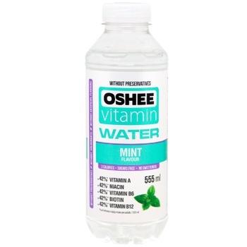 Напій Oshee Vitamin Water м`ята 0,555л