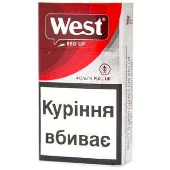 Сигареты West Компакт Ред - купить, цены на Фуршет - фото 3