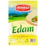 Albeniz Edam Cheese Sliced 45% 90g