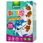 Печенье Gullon Dibus Sharkies без глютена 250г