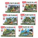 Iblock Toy Construction Military Equipment PL-920-15 in assortment