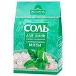 Соль для ванн Желана  Морськая натуральная с эфирными маслами Мяты 500г