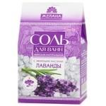 Соль для ванн Желана  Морськая натуральная с эфирными маслами Лаванды 500г