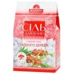Соль для ванн Желана  Морськая натуральная с эфирными маслами Чайного дерева 500г