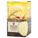 Вафлі Royal Crisp солоні без начинки Чіпс Original 85г