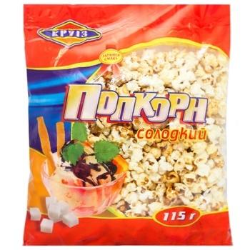 Попкорн Круиз сладкий 115г - купить, цены на Ашан - фото 1