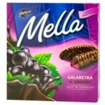 Мармелад Mella с соком черной смородины в черном шоколаде 190г