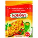 Приправа Kotanyi Для омлету та яєчні з травами 20г