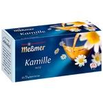 Чай трав'яний Messmer Ромашка 25шт 1.5г
