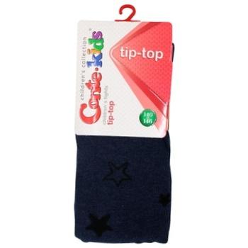 Колготы Conte-kids Tip-Top детские темный джинс 140-146р - купить, цены на СитиМаркет - фото 1
