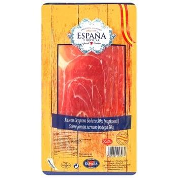 Serrano Bodega raw cured pork jamon 50g - buy, prices for EKO Market - photo 1
