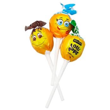 Конфеты Roshen Lolli Pops коктейльный/йогуртовый вкус - купить, цены на МегаМаркет - фото 1