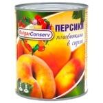 Персик BulgarConserv половинками в сиропі 850мл