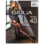 Колготки Giulia Mosaic женские 40den 3 nero