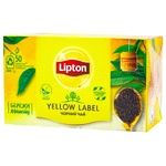 Чай чорний Lipton Yellow Label 2г х 50шт