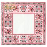 La Fleur Symmetrical Ornament Napkins 33x33cm 2 layers 20pcs