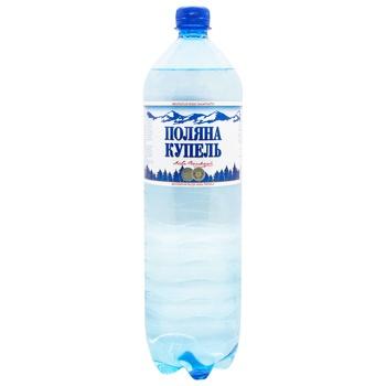 Вода Поляна Купель сильногазированная лечебно-столовая 1,5л