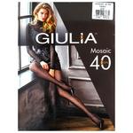 Giulia Mosaic Women's Tights 40den 2 nero