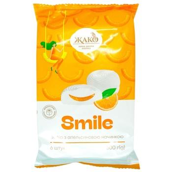 Jaсo Marshmallow with Orange 300g - buy, prices for EKO Market - photo 1