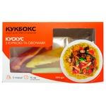 Набір Кукбокс для приготування кус-кусу з філе курки та овочами 584г