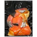 Dymni Tradytsiyi Cold Smoking Salmon Pieces for Salads vacuum packaging 250g