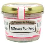 Le domaine des tuileries Rillette canned meat pork 180g