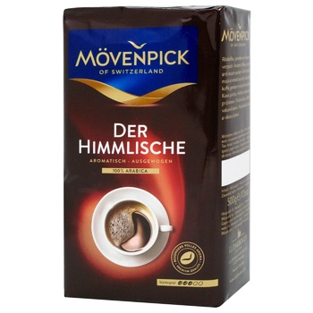 Ground coffee Movenpick 100% Arabica 500g