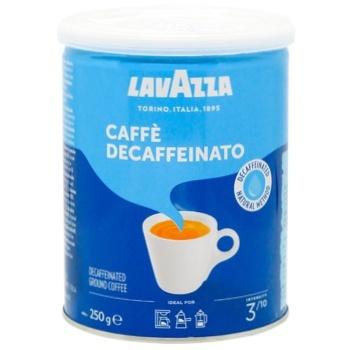 Кофе Лаваза Дек молотый без кофеина 250г Италия