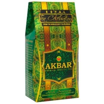 Чай Akbar Rich Soursop суміш чорного та зеленого чаю