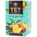 TET Ginger Green Tea 20pcs x 2g